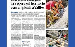 Una estate ecologica in Val Gerola